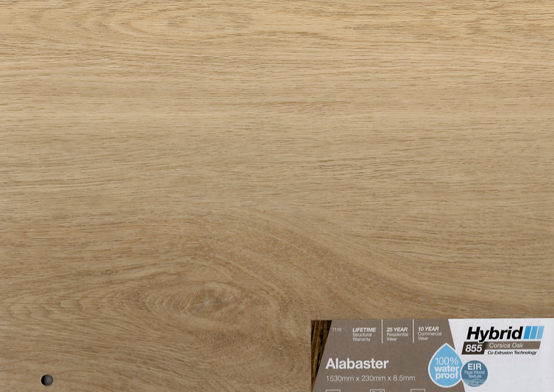 8.5mm ALABASTER CORSICA OAK HYBRID 1530x230