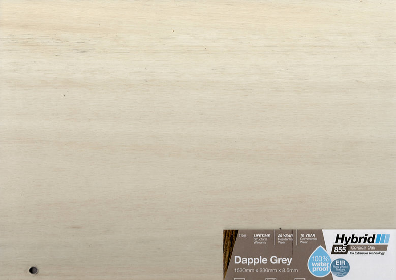 8.5mm DAPPLE GREY CORSICA OAK HYBRID 1530x230