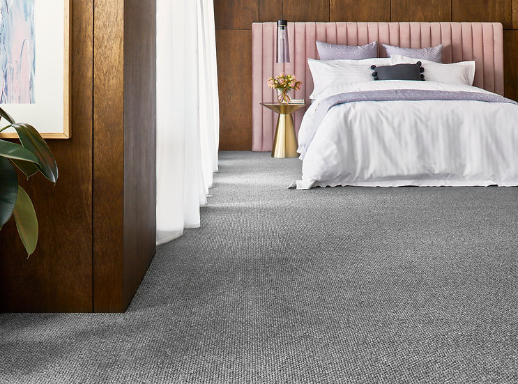 Stonefields Greystone Feltex Wool Carpet