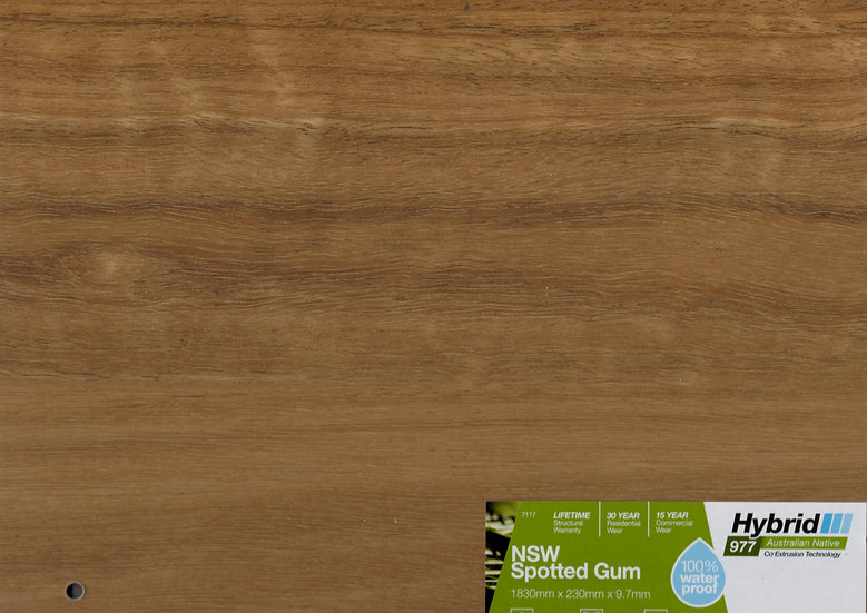 9.7mm NSW SPOTTED GUM HYBRID 1830 (L) X 230 (W)