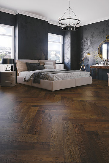14/3mm FRENCH GREY WILD OAK HERRINGBONE PARQUETRY 888x148