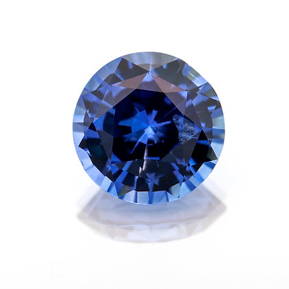 M196-003 - Blue Sapphire 7.4mm Round 1.85cts EAS(TILS)