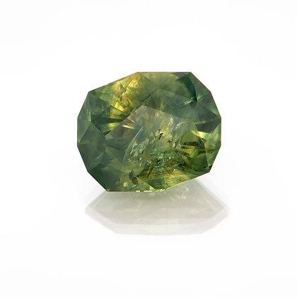 I520-199-1 Green Montana Sapphire 8.4x6.8 Fancy 2.31cts RUA