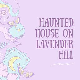 Purple Illustration Pastel Witch Halloween Tea Party Invitation .png