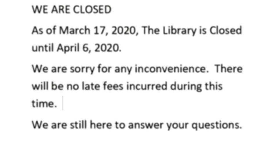 Bonne Terre Memorial Library closed