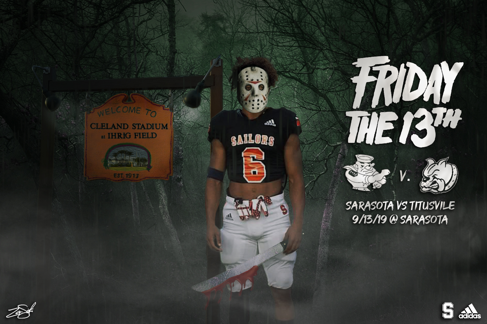 Friday the 13th Game Promo