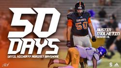 50 Days Graphic
