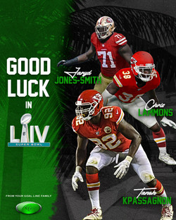 Super Bowl LIV Poster