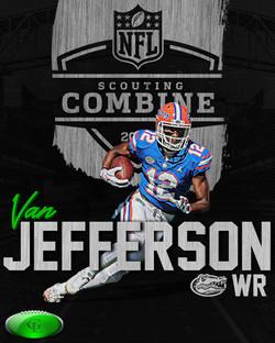 NFL 2020 Combine Attendee - Jefferson