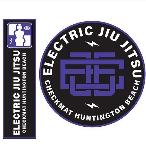 EJJ Purple & Black Patch Set