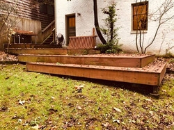 Before - Deck without railing