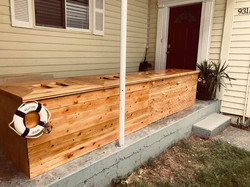 10 ft Storage Bench