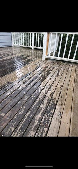 Before - Exterior Deck Surface