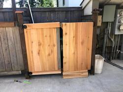 After - Exterior Gate
