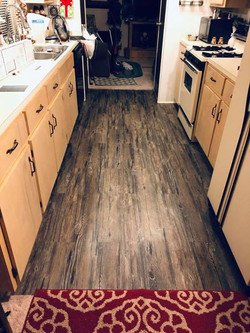 After - Interior Kitchen Floor