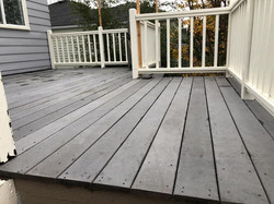 After - Exterior Deck Surface