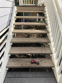 Before - Exterior Stairs