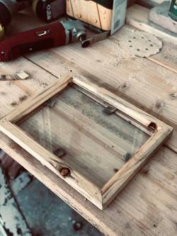 Blue Stain Pine Photo Frame