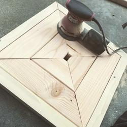 Corner Bench Table Top