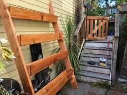Outdoor Ladder Planter