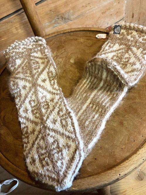 Socken mit türkischem Muster