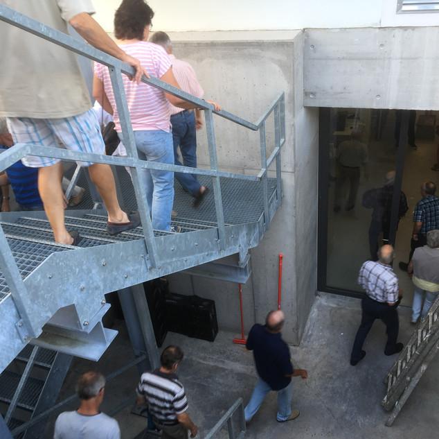 Treppe zum Lagerkeller