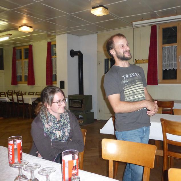 Tanzlehrer Urs Bohl mit Frau Corinne