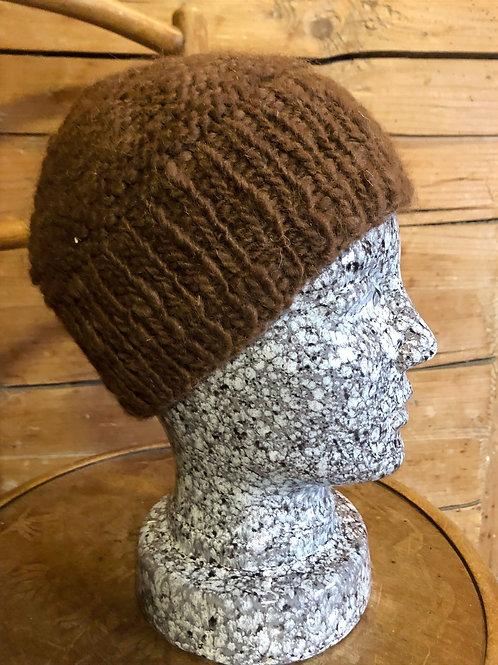 Mütze mit breitem Rand