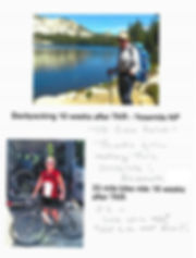 Backpacking after a knee replacement