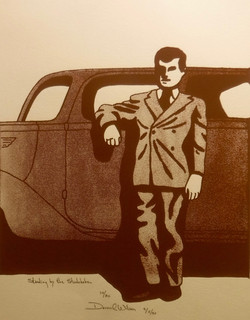 STANDING BY THE STUDEBAKER