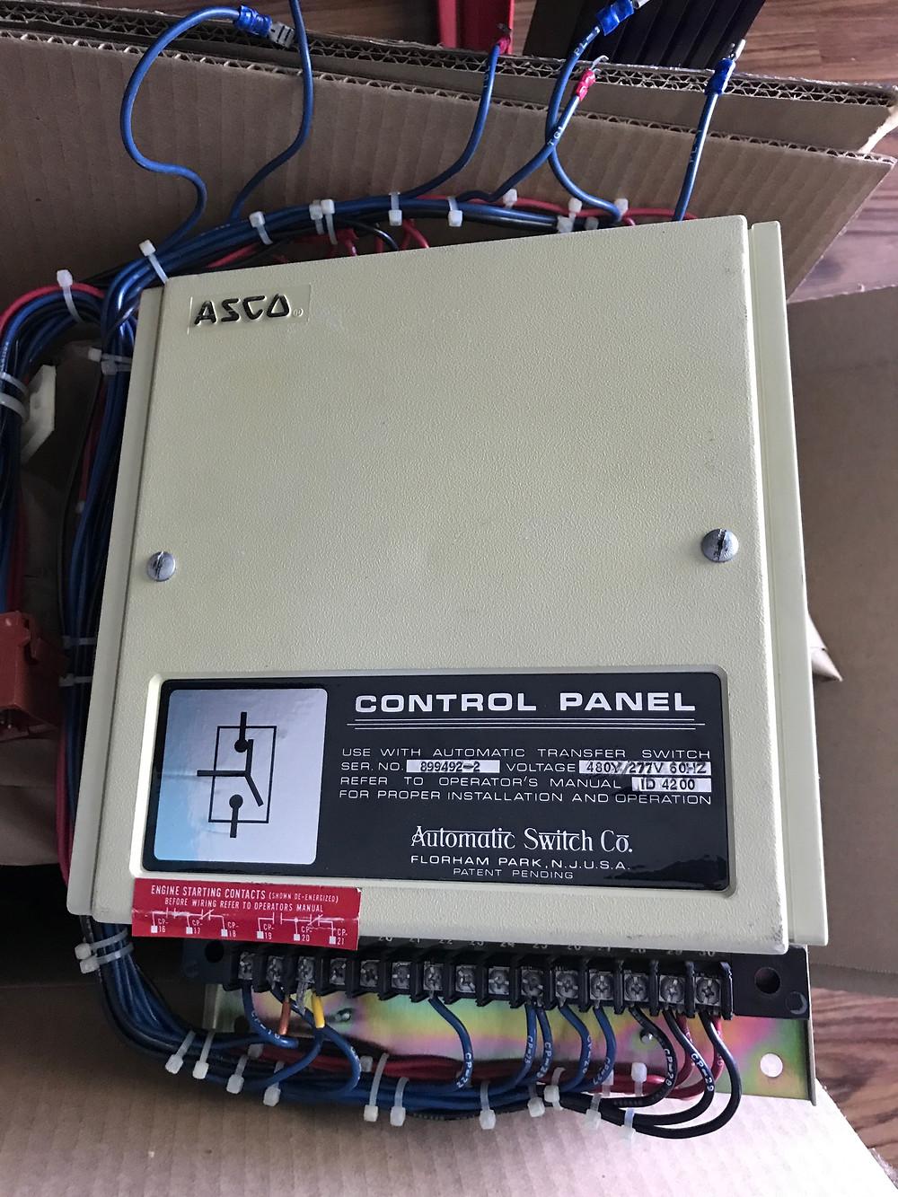 Asco ATS Controller
