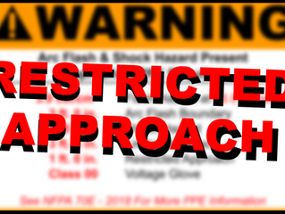 Know Your Arc Flash Sticker: Restricted Approach