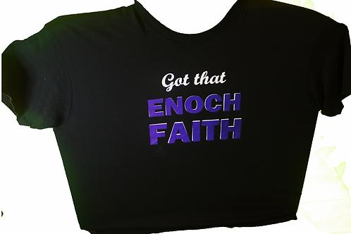 christian fashion, black and purple Tshirt