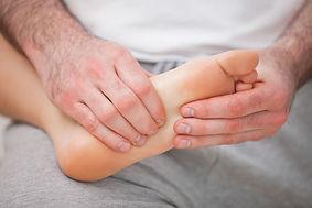 Douleur au pied et à la cheville; ostéo traitant douleur au pied