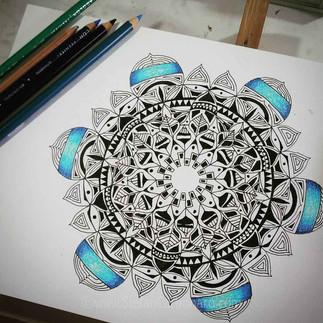 6 Pointed Mandala