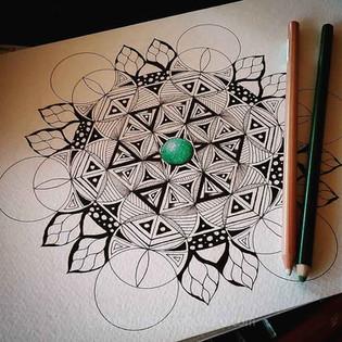 Precious Stone Mandala