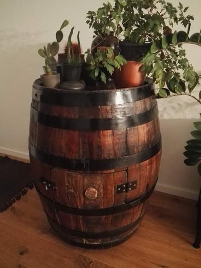 Restoration of Wine Barrel