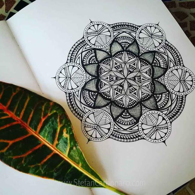 Leaf Mandala Organic
