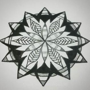 Little Mandala Flower