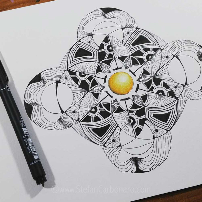 Yellow submarine Mandala