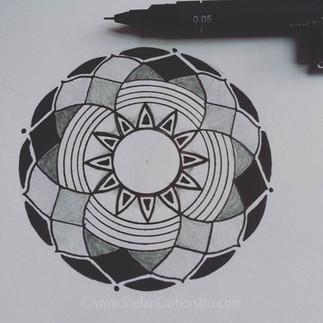 Pencil Mandala