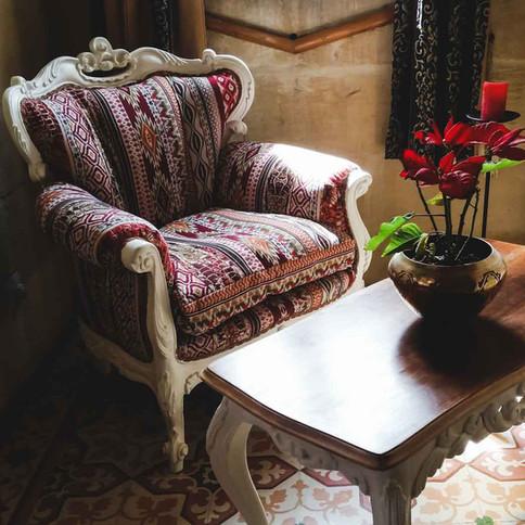 Kilim Armchair Upholstery