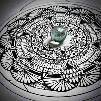 Glass Reflection Mandala