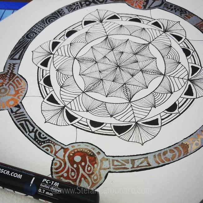 Thai Cobweb Mandala
