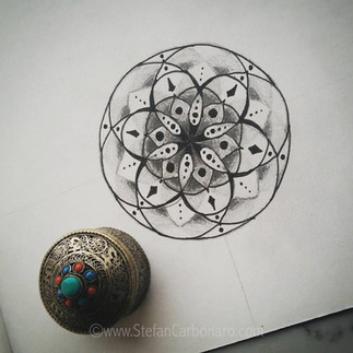 Tin Box Mandala