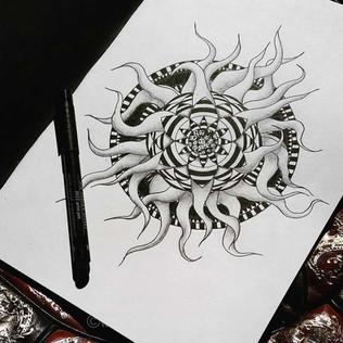 Tentacle Mandala
