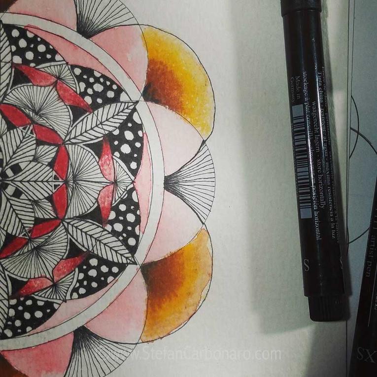 Autumn Flower Mandala