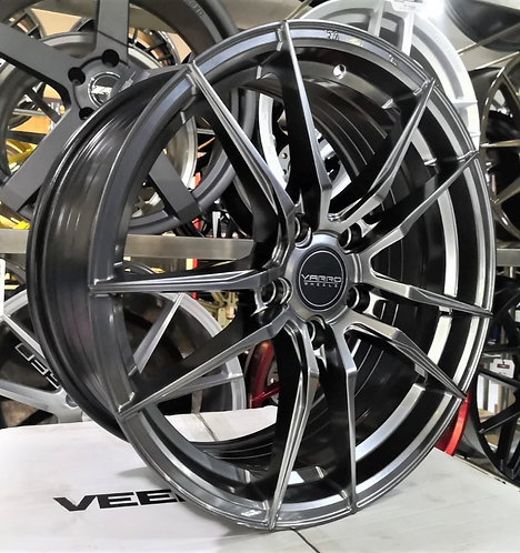 17x7.5 Varro Flow-forming Wheels VD18X-17HB Hyper Black