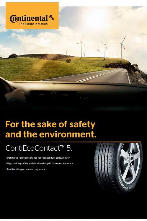 195/55R20 Continental ContiEcoContact 5 CEC5 95H (EU)