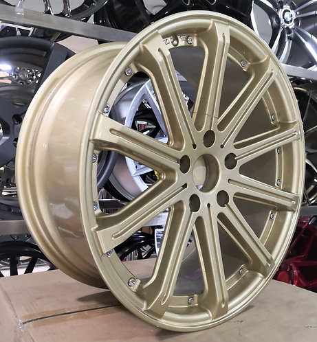 18x8.0 RAMF60918805H45 Rims Gold